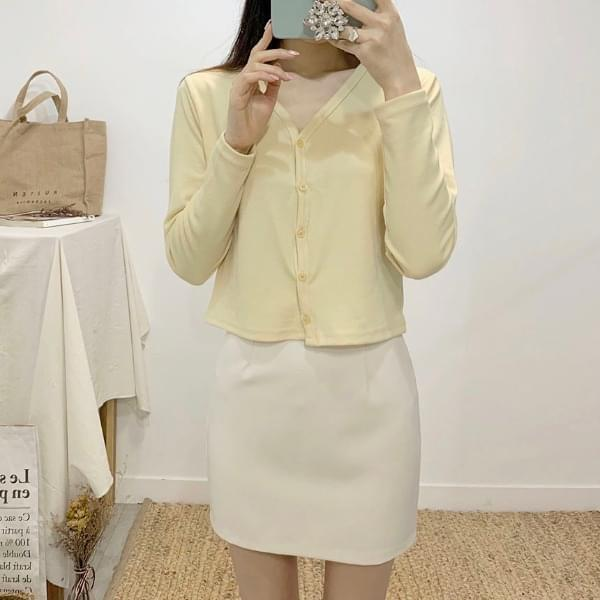 Presso high waist mini skirt スカート