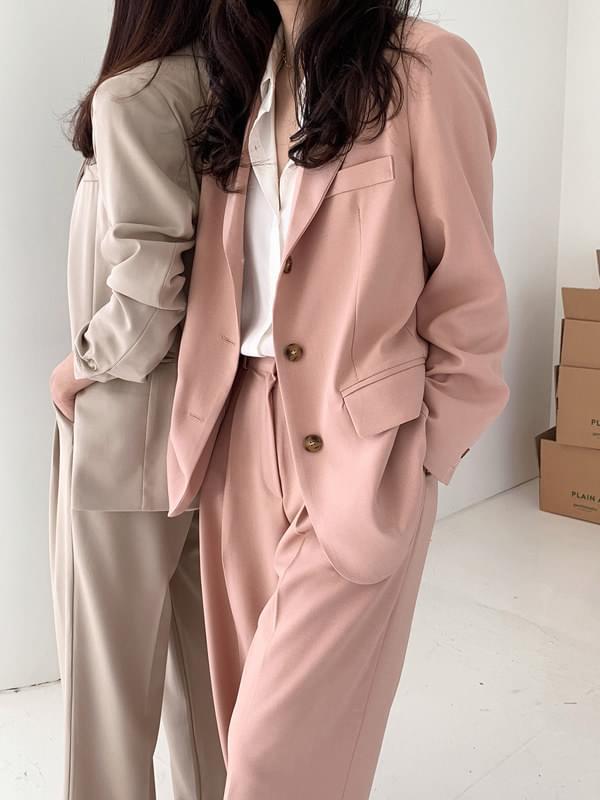 Mercy Loose Fit Single Jacket