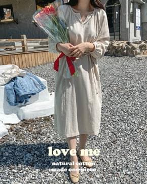 Love Me Natural Cotton Long Dress *