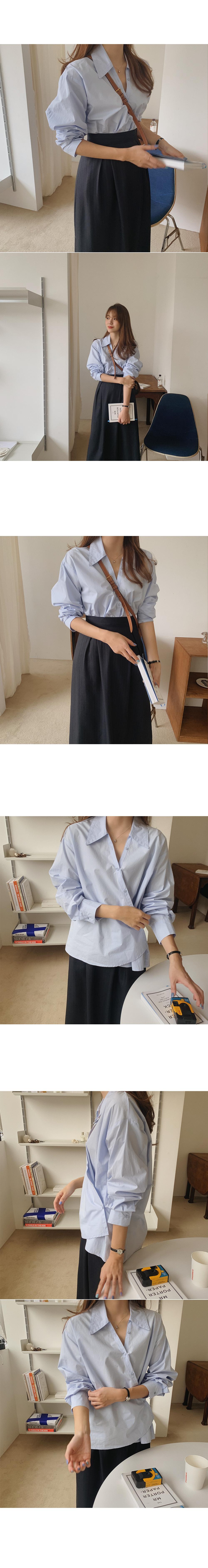 Leviko collar blouse