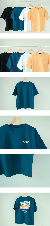 TYPE Lettering Short-sleeved T-shirt