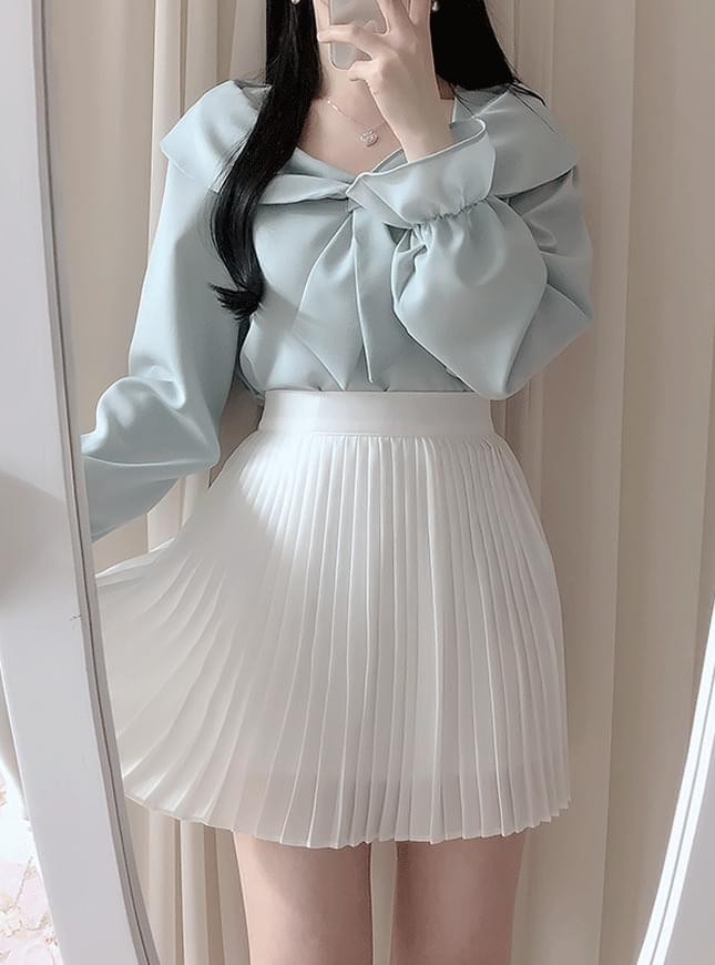 Lady pleated skirt 裙子