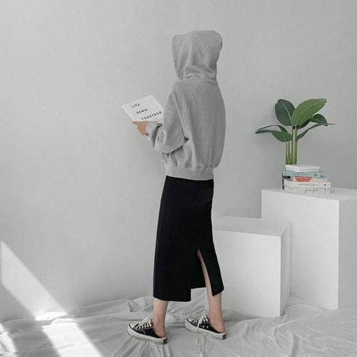 Normal Basic Banding Long Skirt