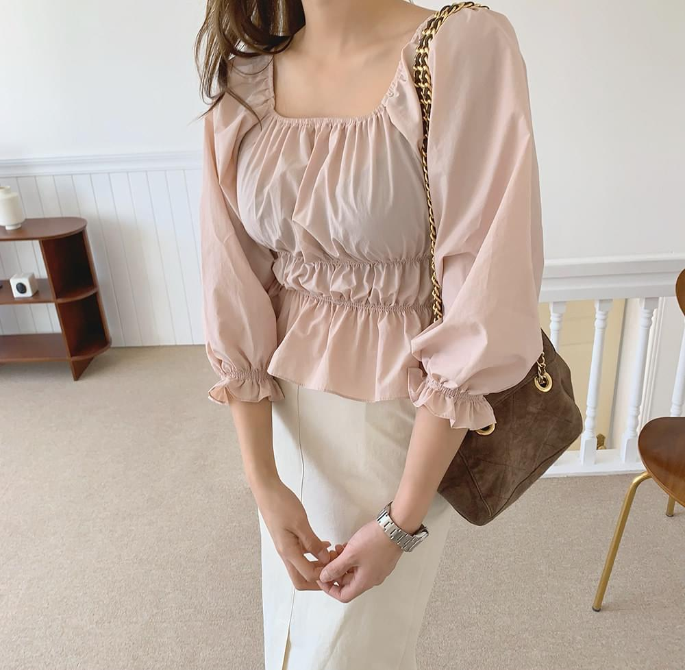 Dear Shirring Blouse