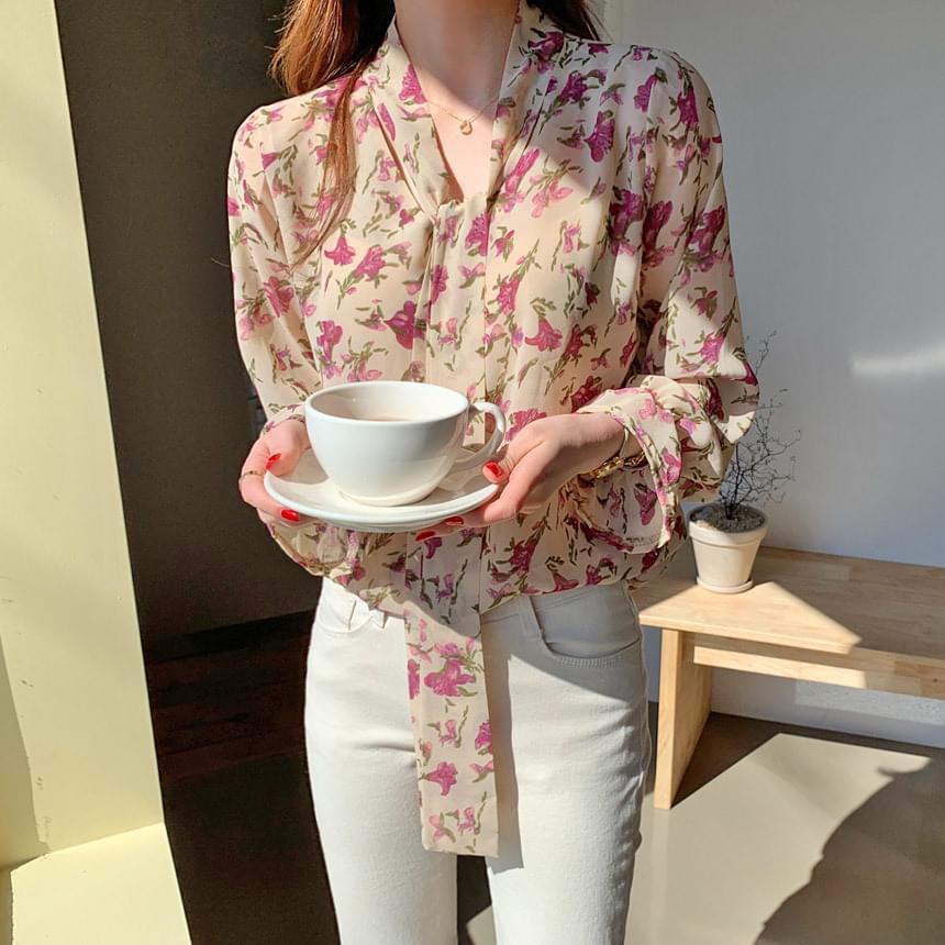 Seyflower blouse