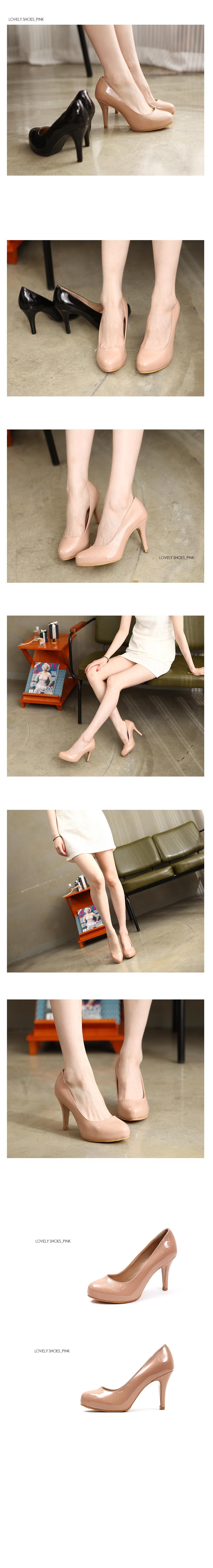 Tachia high heels 9 cm
