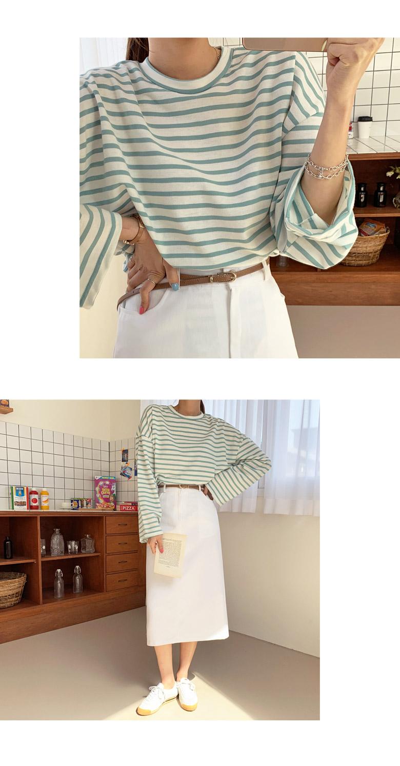 Apple striped t-shirt