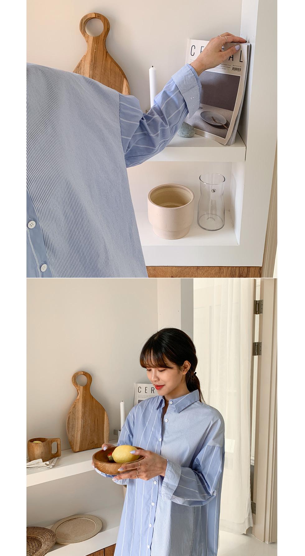 Uncolored Long Shirt