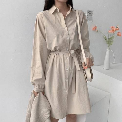 Luge Shirt Dress