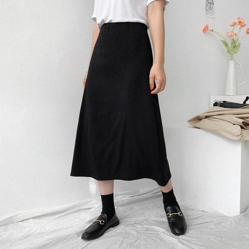 Corrugated flare skirt