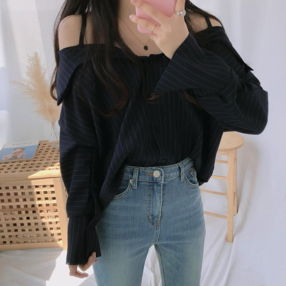 Kai Dan Off Shoulder Shirt