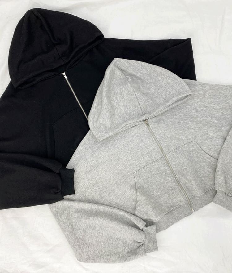 Benny Crop Hood zip_up