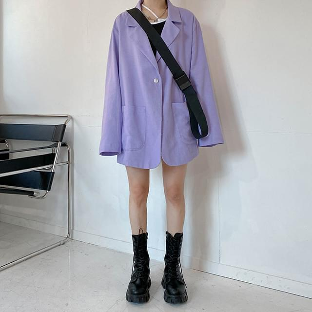 Linen Eight Overfit Jacket