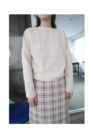 pure 2-way blouse
