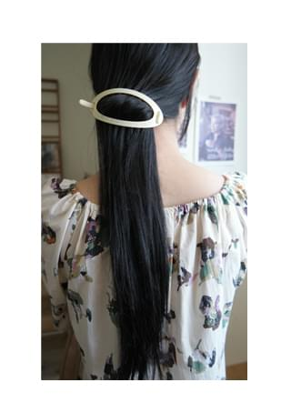 oval hairpin (2colors)