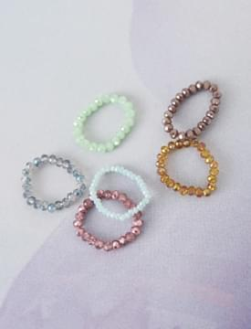 Candy Pearl Beads Ring 戒指