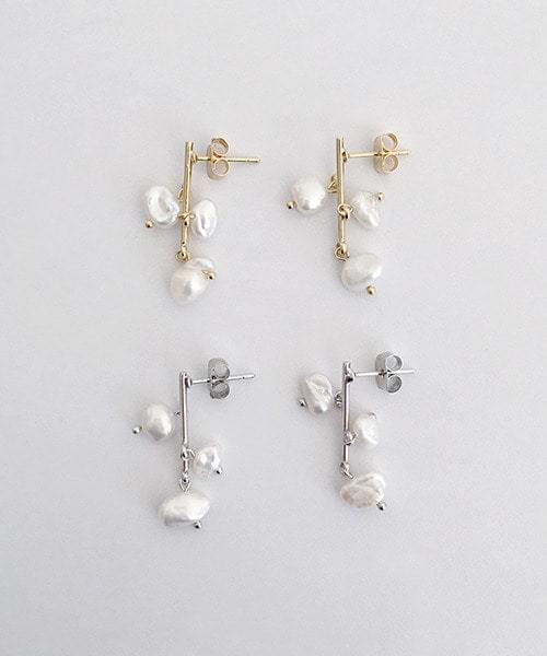 pearl tree earring 耳環