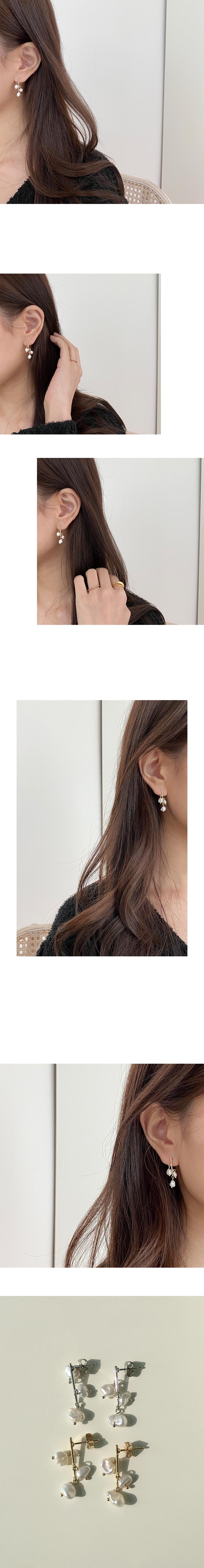 pearl tree earring