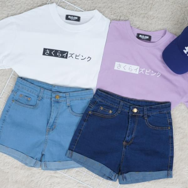 Pink Sakura Short Sleeve T