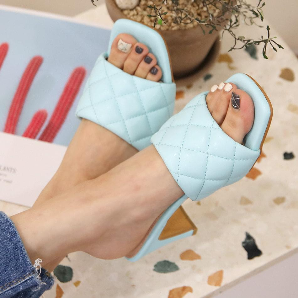 The Bell Qualifying Mule Slippers 7cm