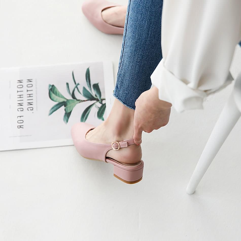Sarre slingback flat shoes 3cm