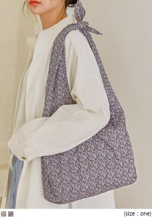 LUND PATTERN KNOT COTTON BAG 帆布包