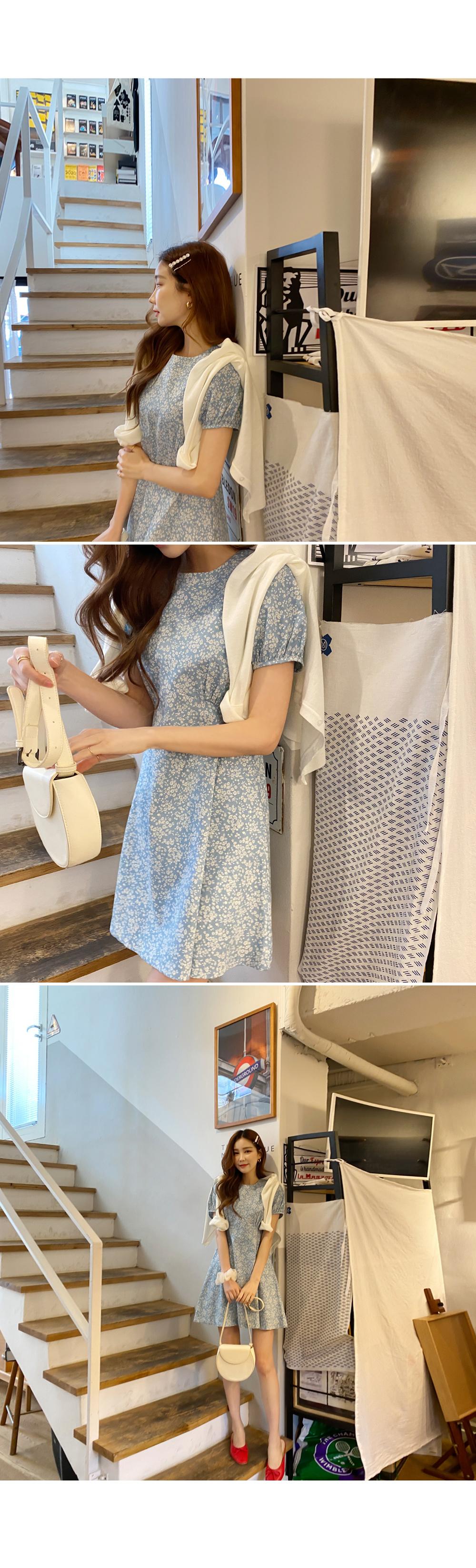 Your fluttering flower mini dress