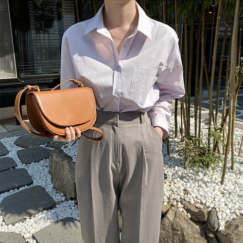 Essen loose-fit cotton shirt