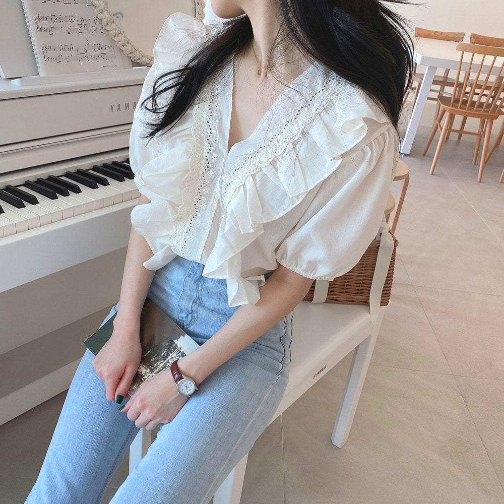 Puring Mary Blouse