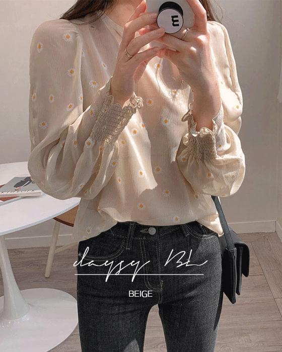 Thanks Sale ♥ Daisy Chiffon blouse