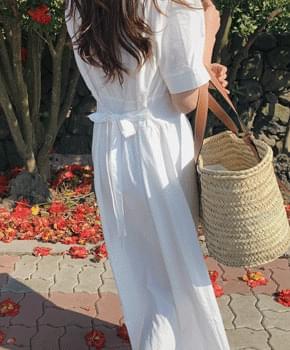 Porilly cotton dress