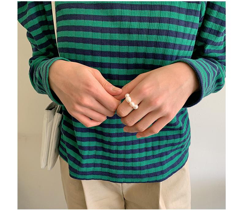 Pearl Bead Banding Ring