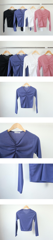Butterfly Shirring T-Shirt