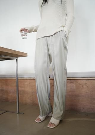 fluid banding pants パンツ