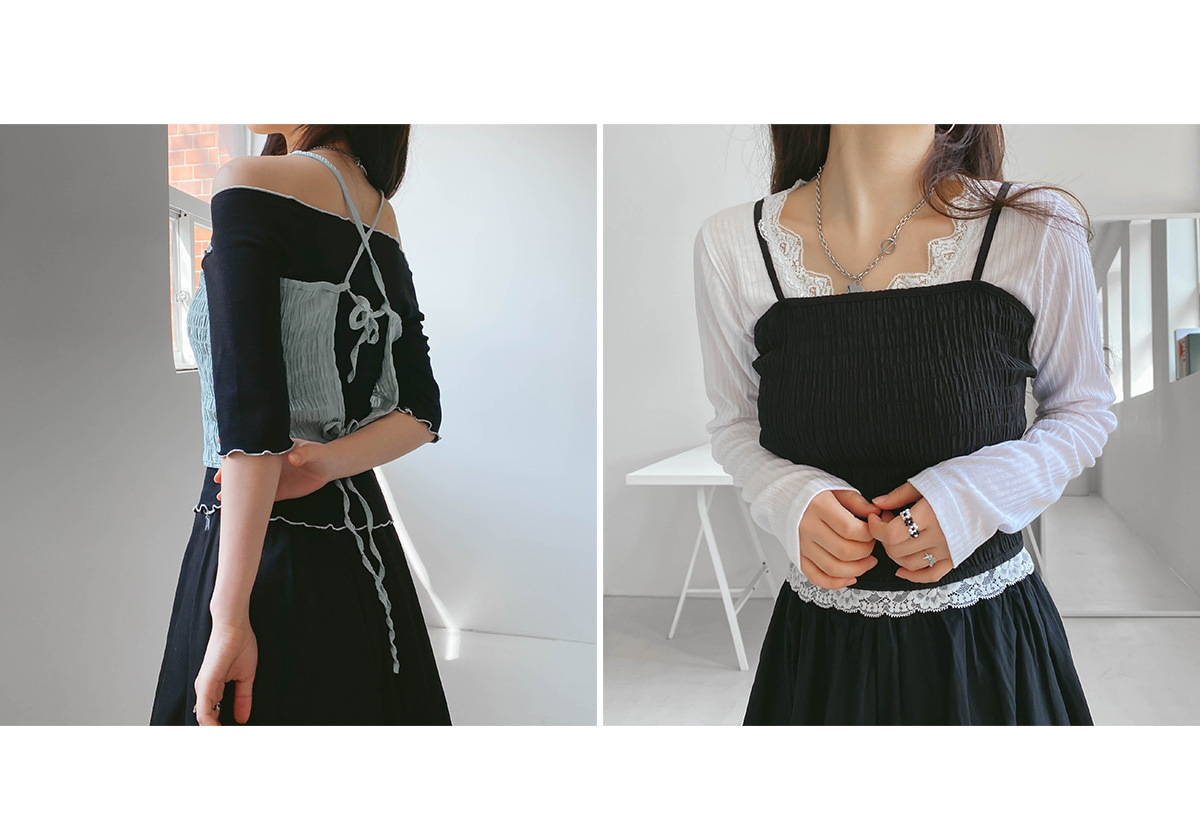 Cropped Bustier