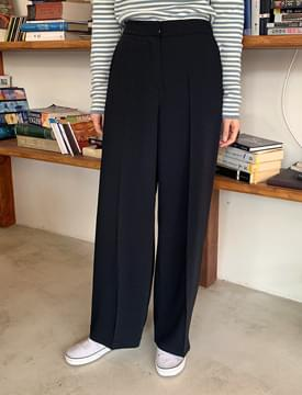 Modern wide banding pants 長褲