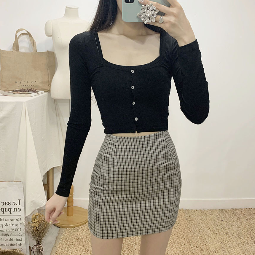 Feliu Check Mini Skirt