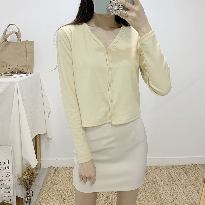 Presso high waist mini skirt