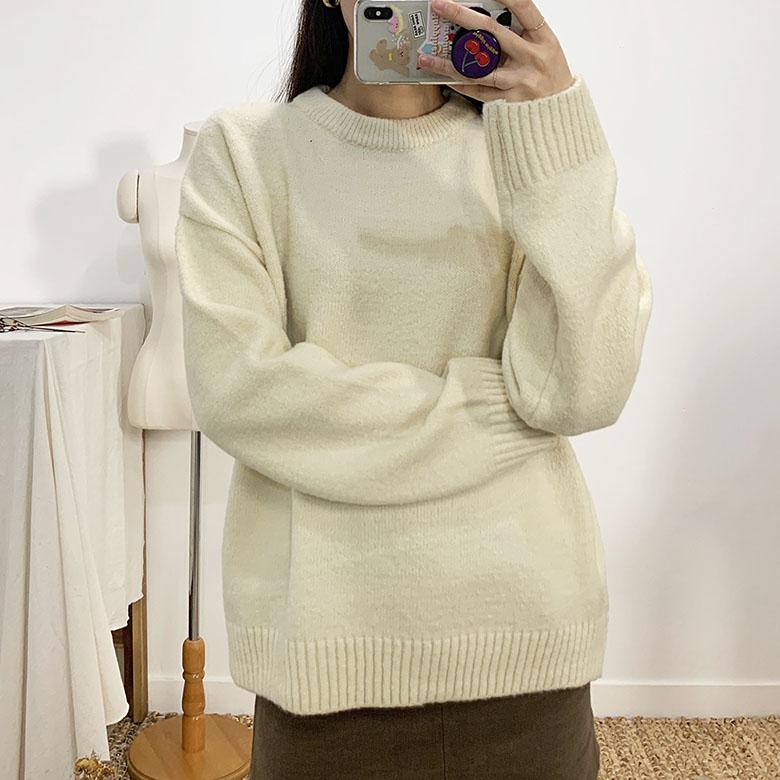 Pick Me Pastel Round Neck Knit
