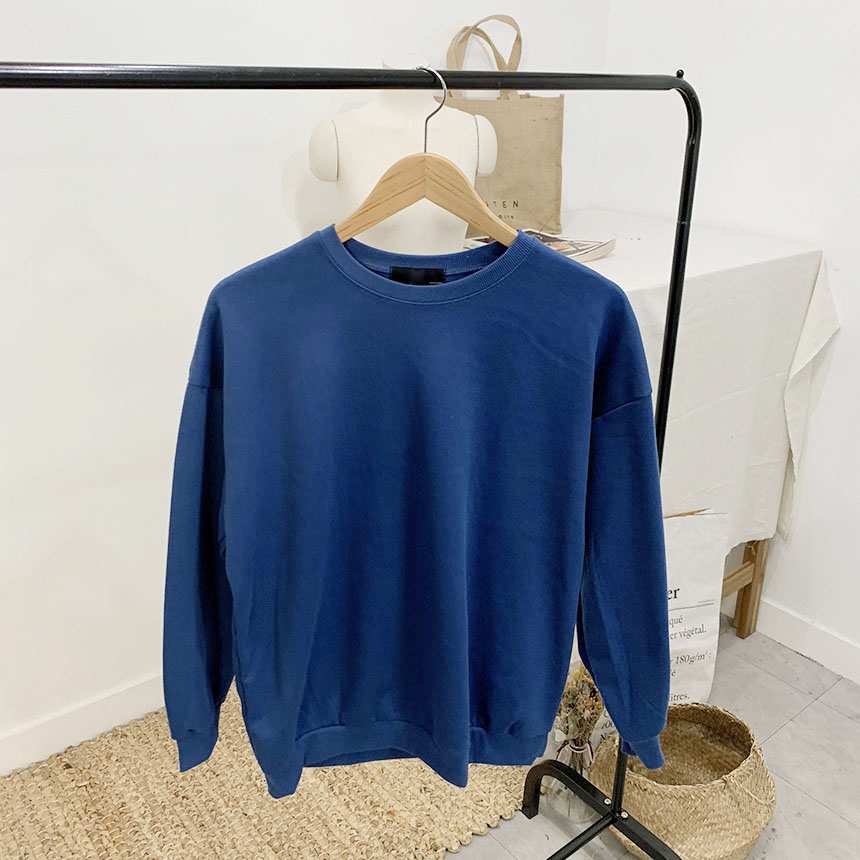 Scatcher plain color round neck one to one