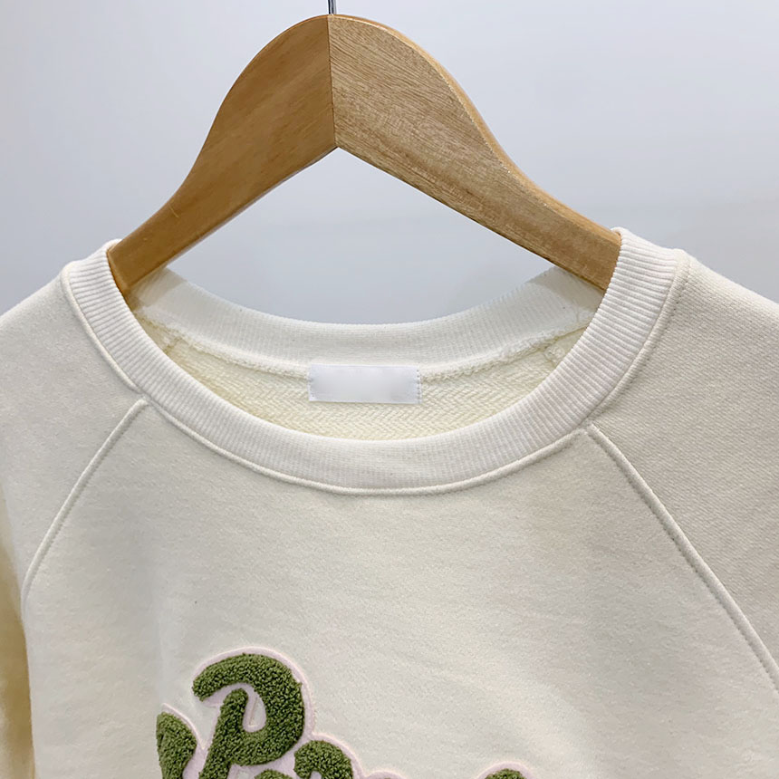 Paula's bookle lettering round neck one to one