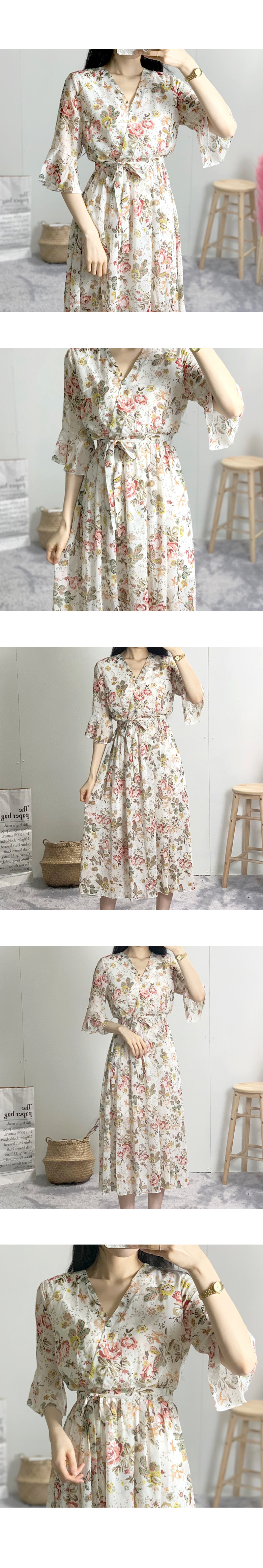 Coco Rose Chiffon Long Dress