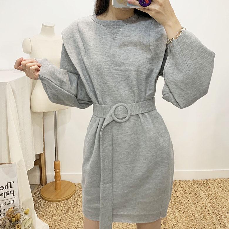Asha Shoulder Belt Mini Dress