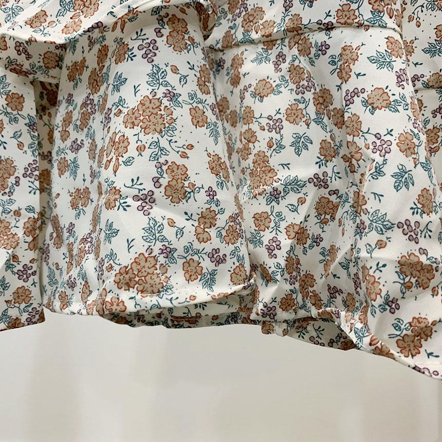 Elino Cancan Ruffle Midi Dress 3colors