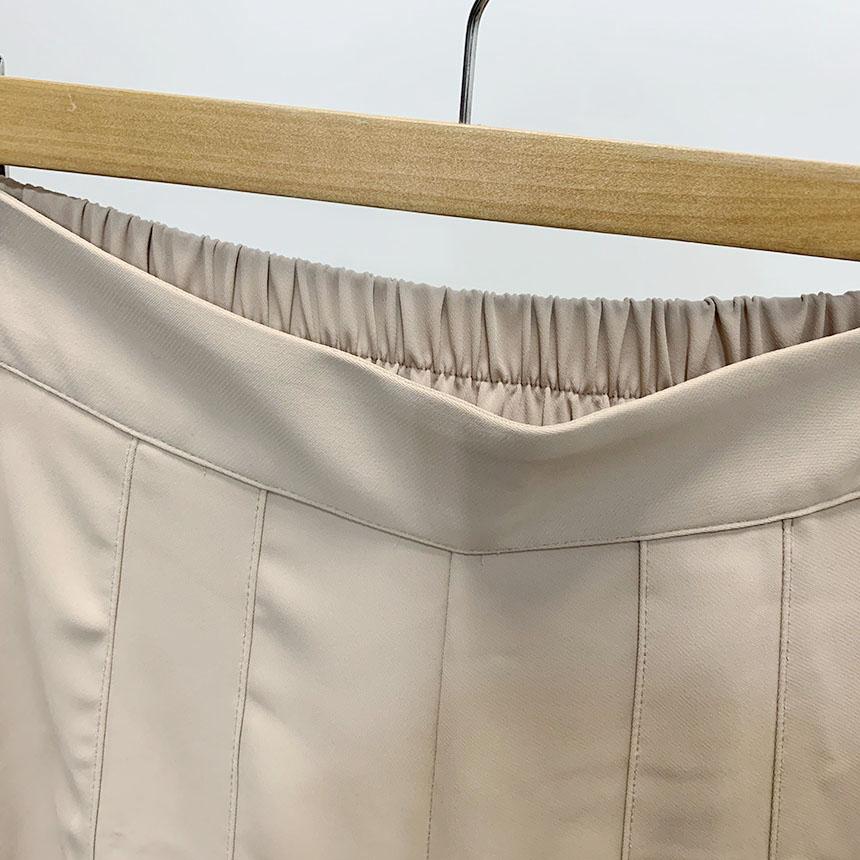Bigel high-waist wide pants