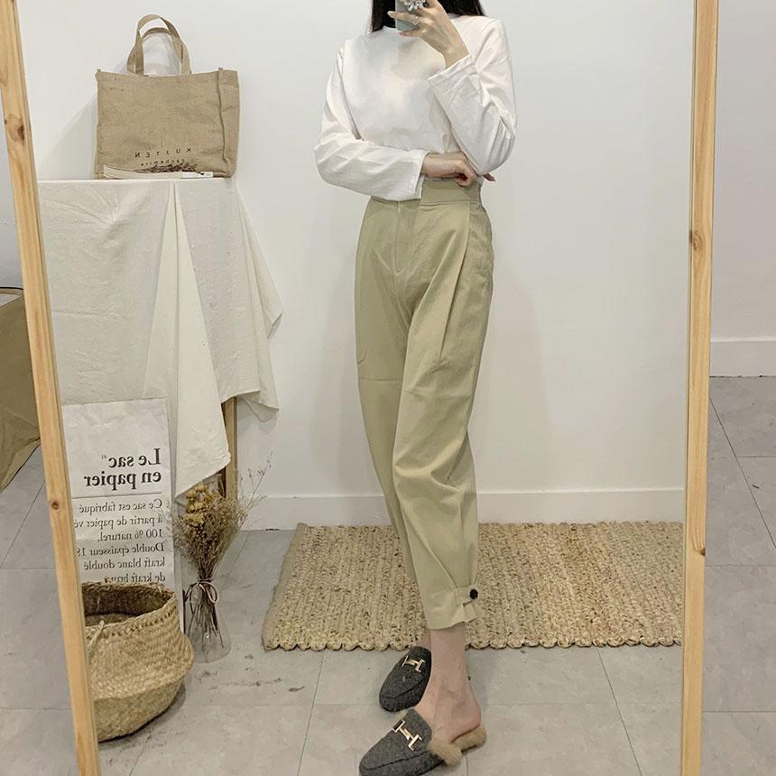 Couture the Burton Baggy Cotton Pants