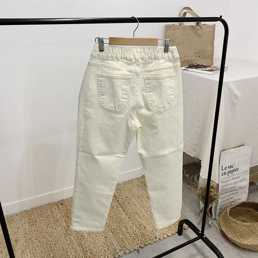 Mashbo Slim Cotton Baggy Pants