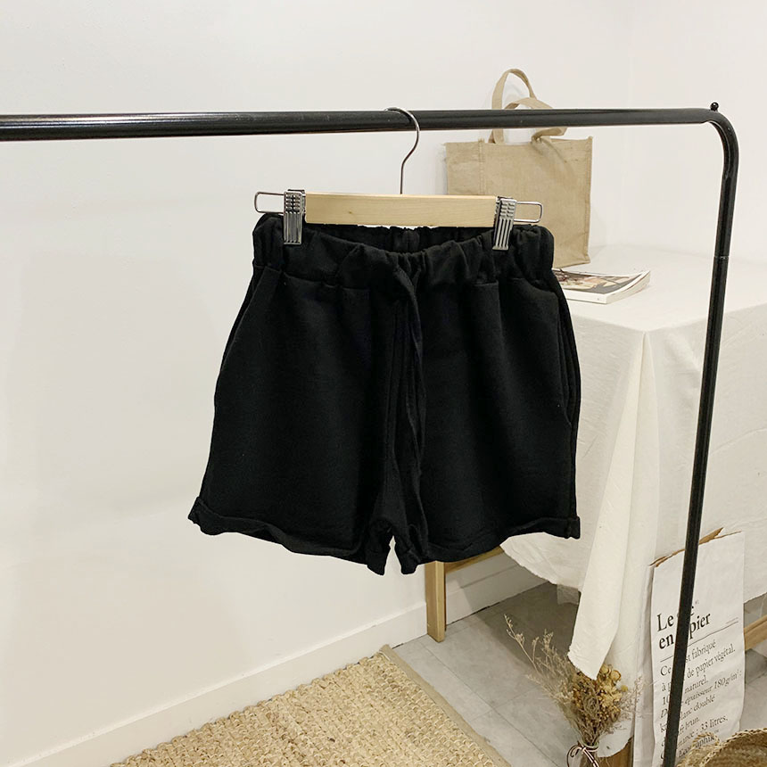 Dolphin Pig Roll Up Short Banding Pants