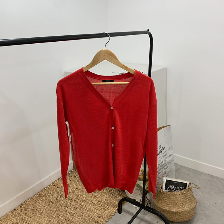 Coco Rouge basic cardigan
