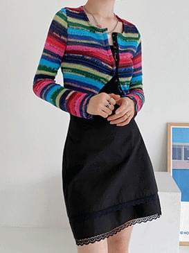 Knitted Marang Crop Cardigan